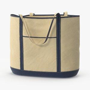 3d max woven beach bag straps