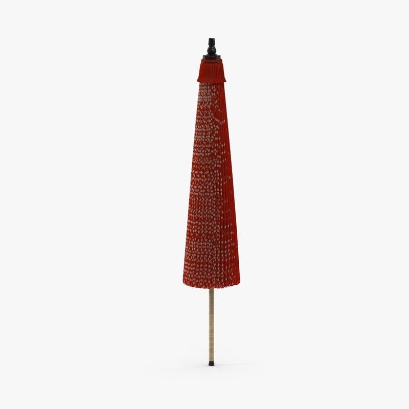 max closed parasol