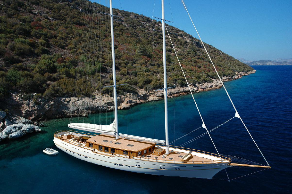 3d 145 yacht sails