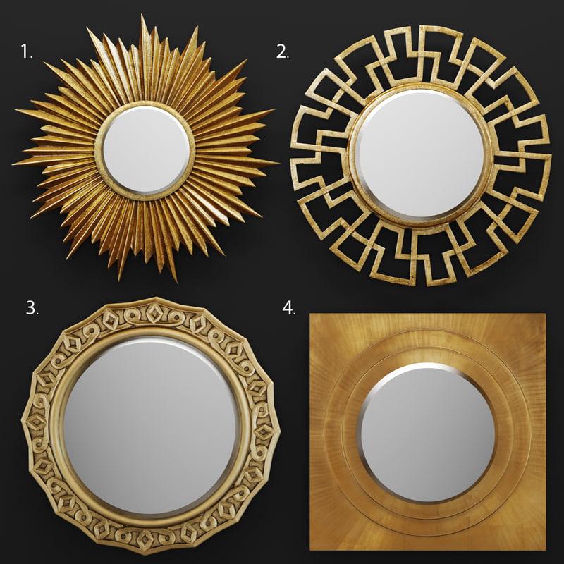 3d josephine mirror model