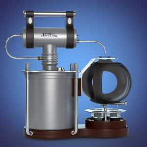 oak distiller 3d max