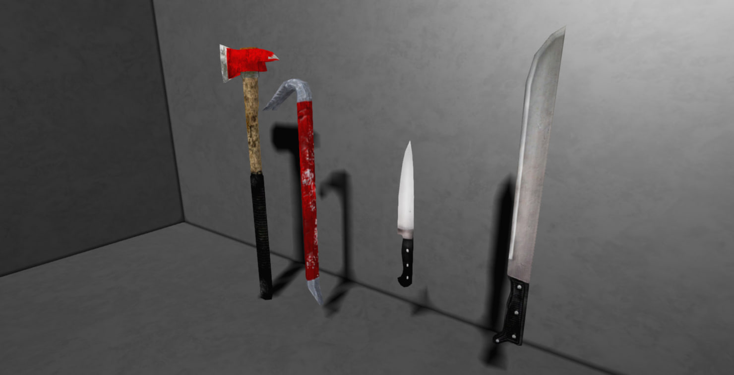 melee weapons pack max