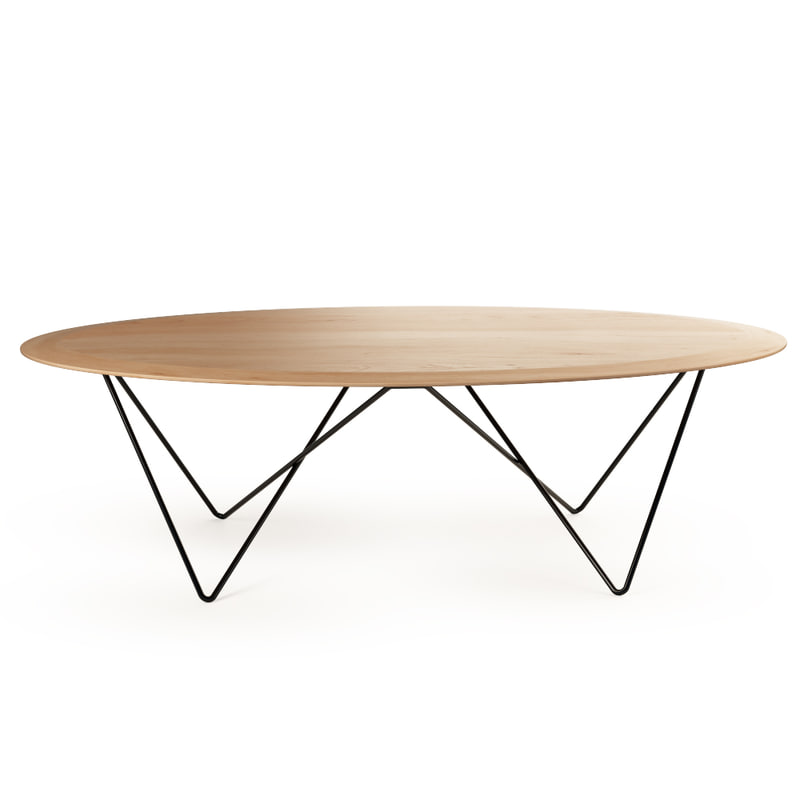 orb coffee table universo 3d obj