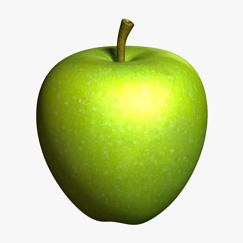 3d model apple 4