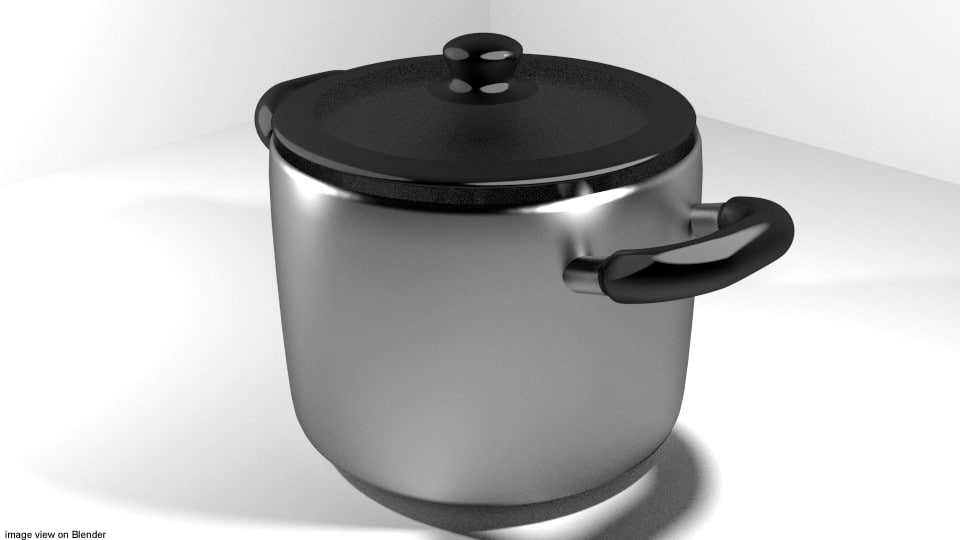 3d cook cookware stock