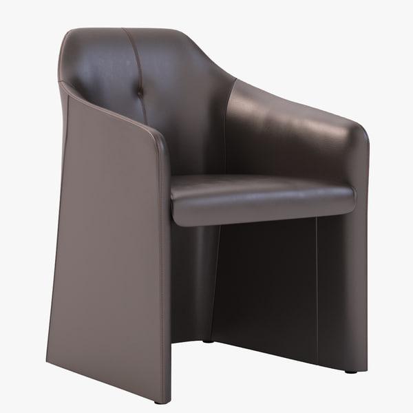 chair sede 3d max