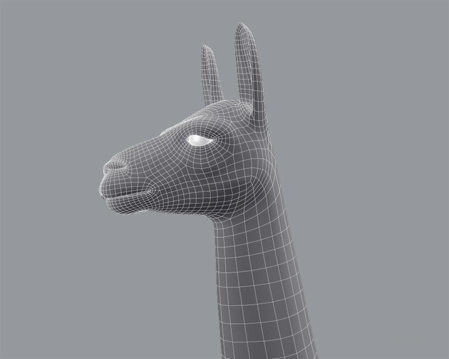 3d llama