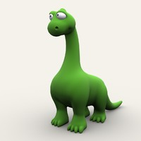 dinosaur cartoon 3d model