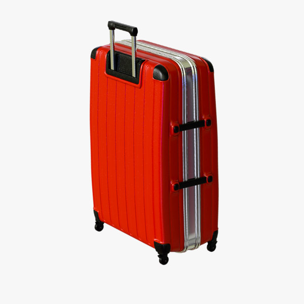 3d model of suitcase 01