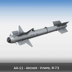 3d model russian - r-73 vympel