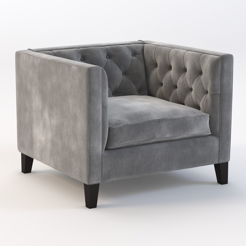 3d tufted realistic