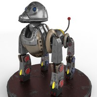 roboanimal modeled 3d max