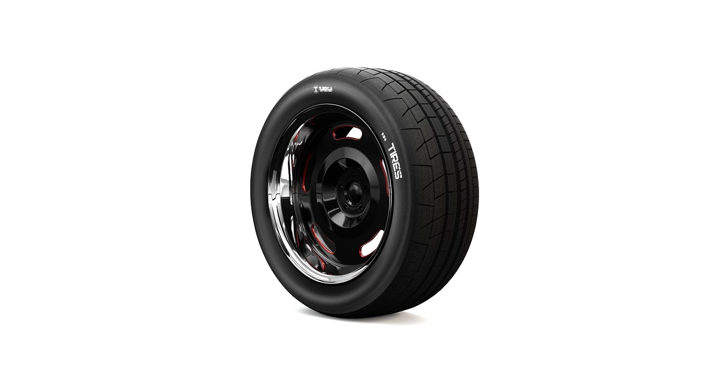 r24 wheel 3d obj