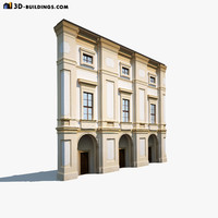 apartment house 3d 3ds