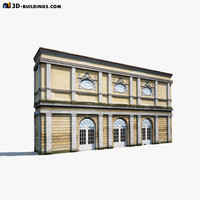 Apartment House #61 Low Poly 3d Model