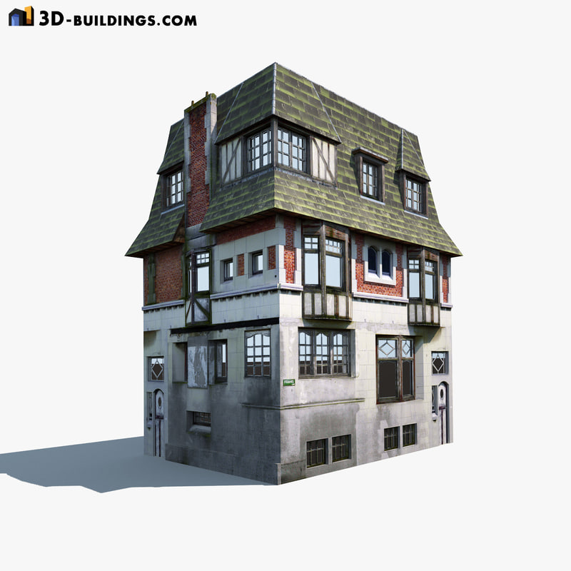 old building 3ds