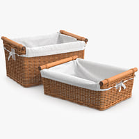 Wicker Basket Rattan 6