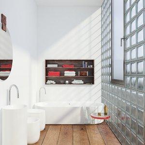 3d model interior scene