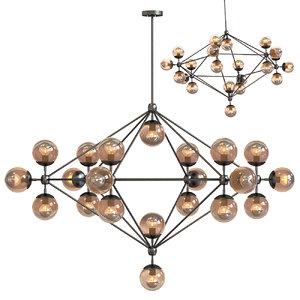 chandelier 21 3d max