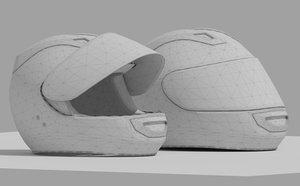 3d helmet 16 model