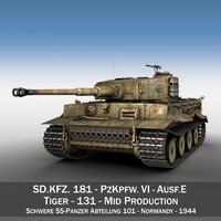 Panzer VI - Tiger - Mid Production