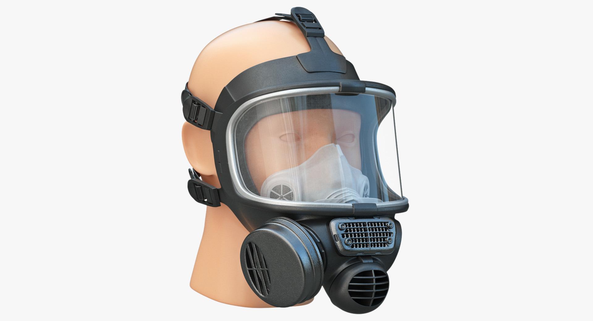 3d safety gasmask