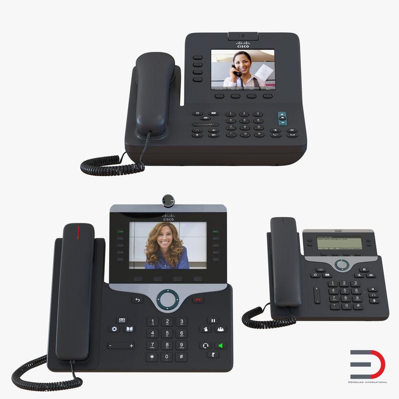 cisco ip phones 2 3d 3ds