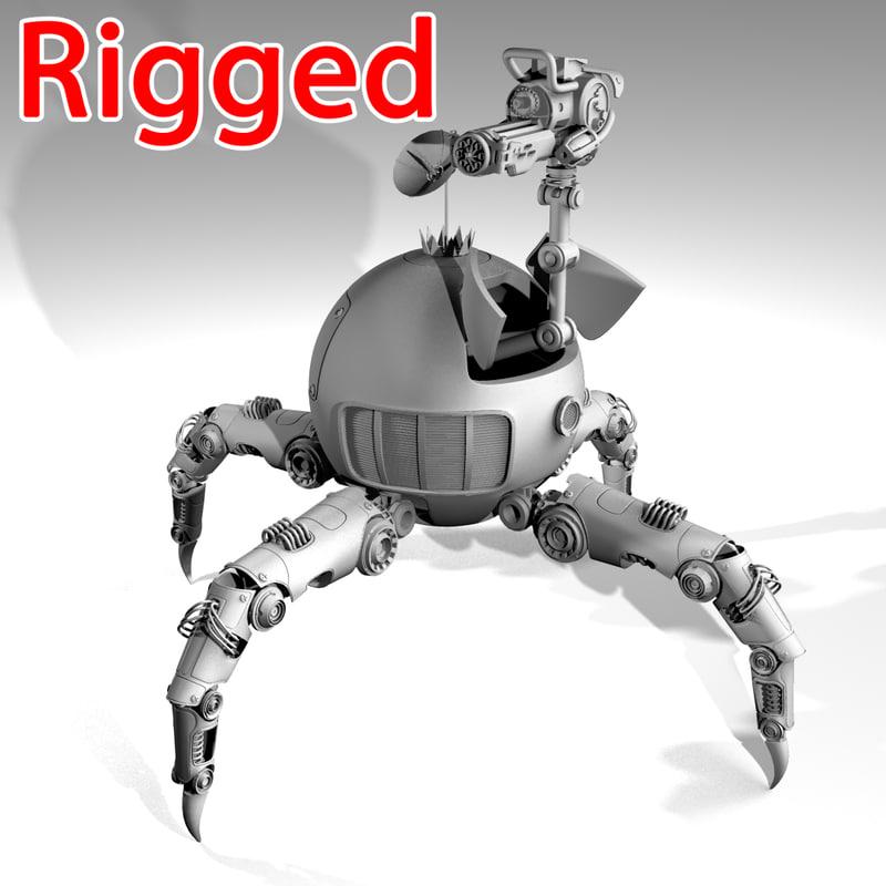 x robot spider