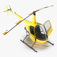 max helicopter robinson r22 rigged