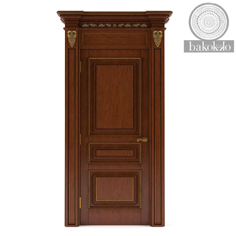 doors bakokko italy 3d model