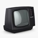 crt televsion 3D models
