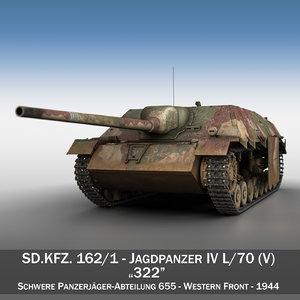 3d jagdpanzer iv l 70