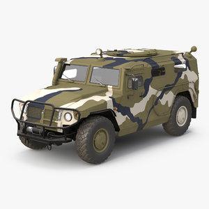 infantry mobility vehicle gaz c4d