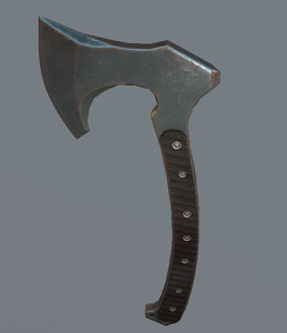 3d model tomahawk