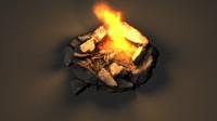 campfire fbx