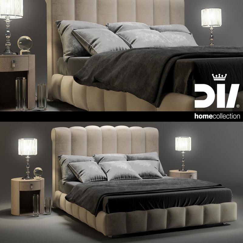 3d lamp dv home byron model