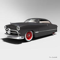 Hot Rod Custom Coupe 1949