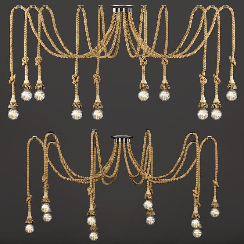 max chandelier loft rope