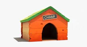 max cartoon dog house
