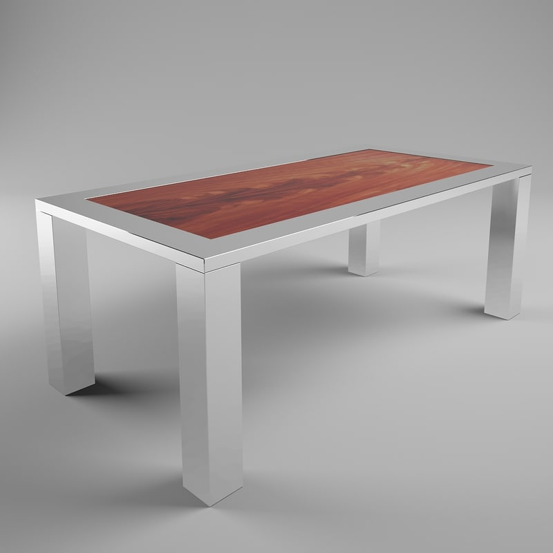 3d jendycarlo j900-04 dinner table model