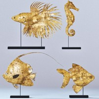 Four Fish figures