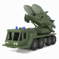 Cartoon Missile Vehicle 1