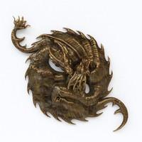 3d max dragon panno
