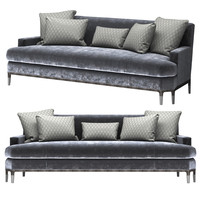 baker celestite sofa 6179s 3d model