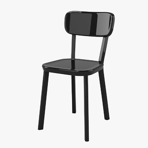 3d magis deja-vu chair model