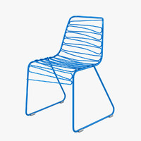 magis flux chair 3d model