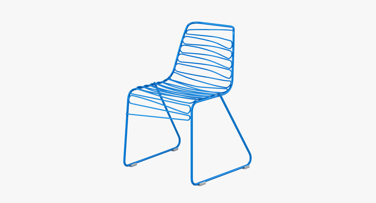 magis flux chair 3d model