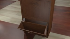 shoe cabinet 3d fbx