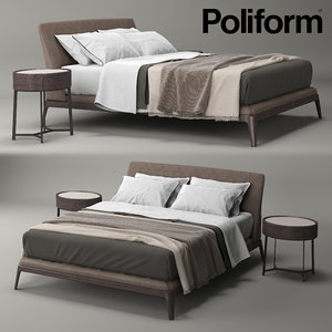 poliform kelly 3d model