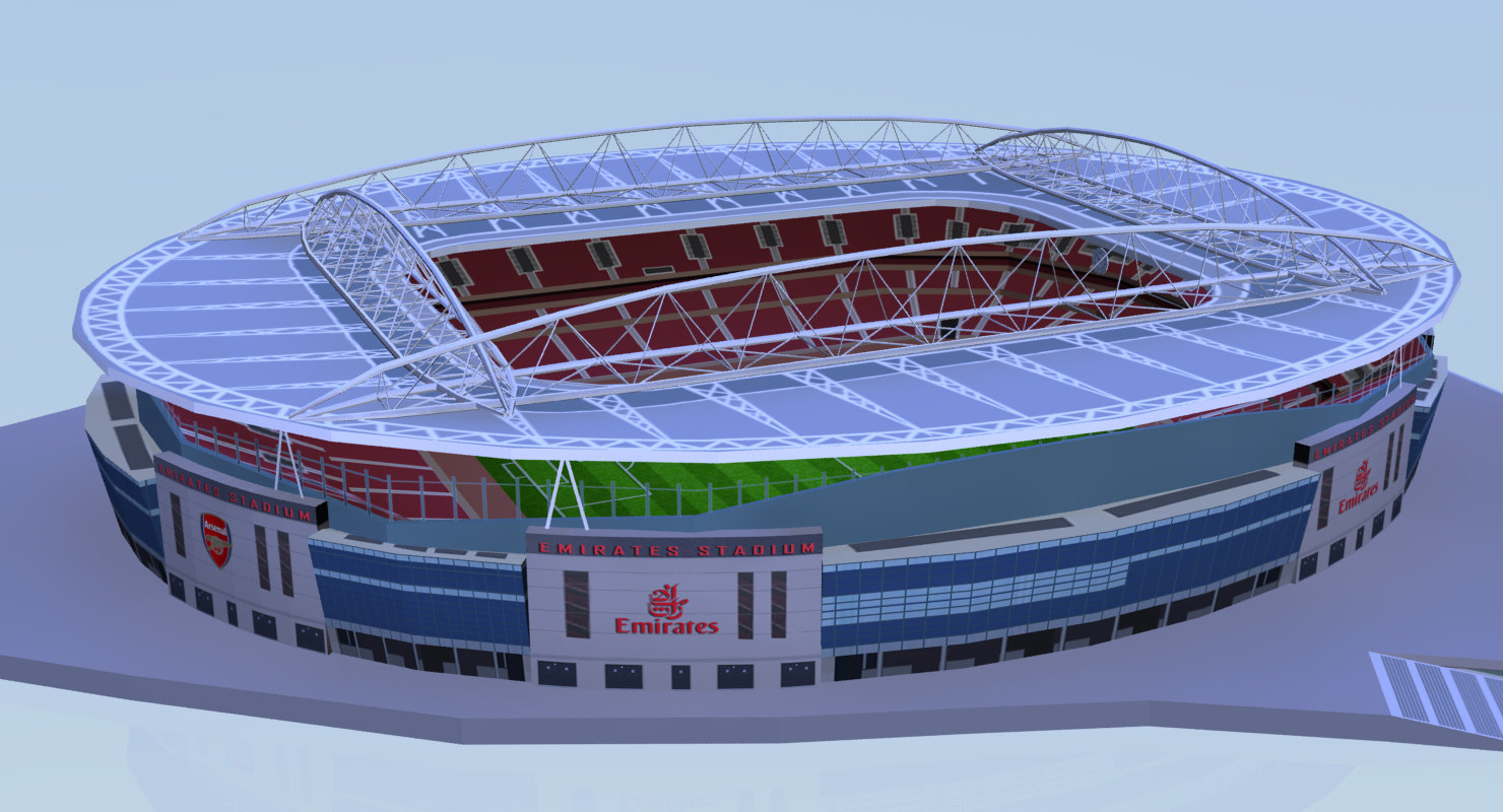 3d emirates stadium football